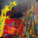 De Noorman 100 x 100 cm (Verkocht)