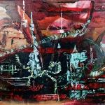Tibet 80 x 100 cm (Verkocht)