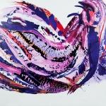 Paarse Droom 80 x 120 cm (Verkocht)